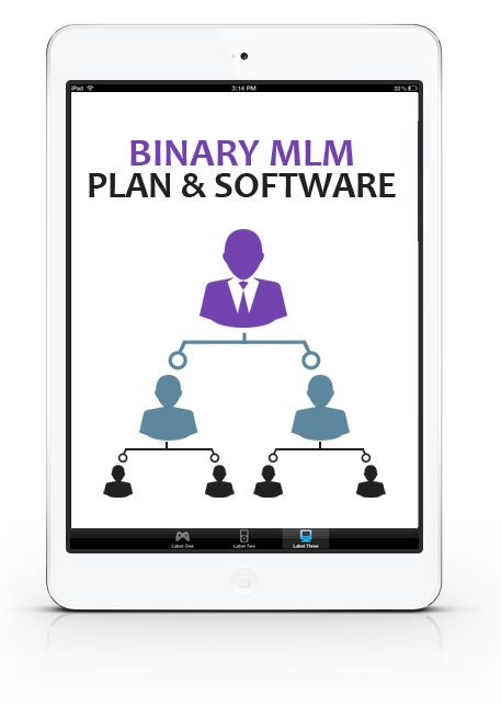 Binary tree software mlm